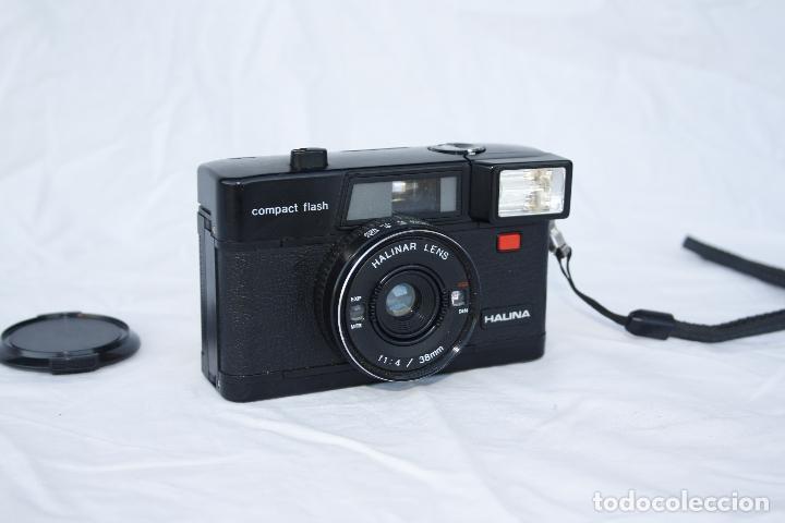 Cámara de fotos: Muy curiosa cámara de colección - HALINA compact flash - Foto 3 - 74676345