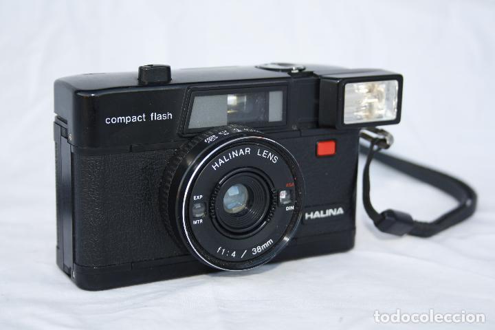 Cámara de fotos: Muy curiosa cámara de colección - HALINA compact flash - Foto 7 - 74676345