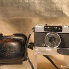 Cámara de fotos: CAMARA OLYMPUS PEN E.E-3 FUNDA TAPA FUNCIONANDO. Lote 71249751