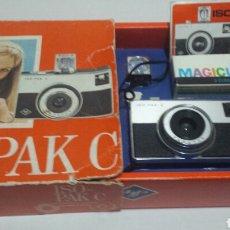 Cámara de fotos: CÁMARA DE FOTOS AGFA ISO-PAK C EN CAJA ORIGINAL Y LIBRO INSTRUCCIONES. Lote 71577305