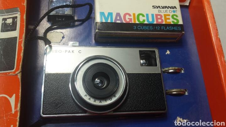 Cámara de fotos: Cámara de fotos Agfa ISO-PAK C en caja original y libro instrucciones - Foto 2 - 71577305