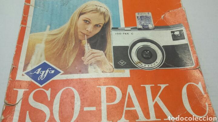 Cámara de fotos: Cámara de fotos Agfa ISO-PAK C en caja original y libro instrucciones - Foto 4 - 71577305