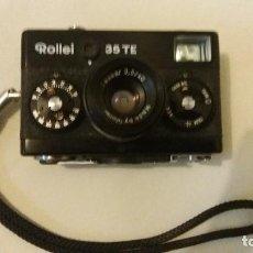 Cámara de fotos: ROLLEI 35TE TESSAR 3,5/40. Lote 72857451