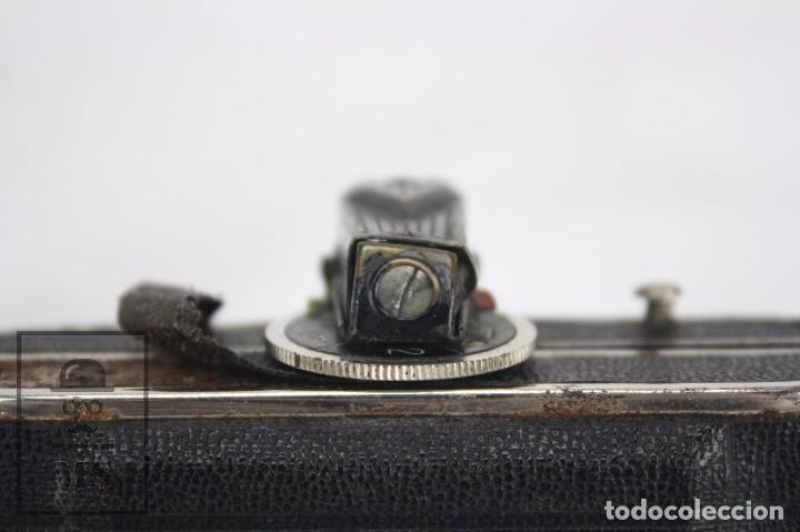 Cámara de fotos: Antigua Cámara Fotográfica de Fuelle - Baldi, de Balda - Objetivo Compur - Alemania, Años 30 - Foto 8 - 74387799