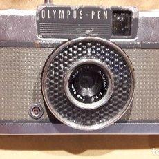 Cámara de fotos: CÁMARA OLYMPUS PEN EE. CON ALGUNOS ROCES. OBTURADOR FUNCIONANDO / NO COMPROBADA. SIN FUNDA.. Lote 75565863