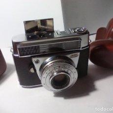Cámara de fotos: CÁMARA FOTOGRÁFICA KODAK RETINA IF, CON FUNDA Y ESTUCHE CON ACCESORIOS. . Lote 75748147