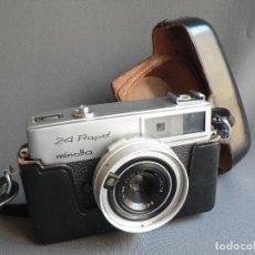 Cámara de fotos: CAMARA FOTOGRAFICA MINOLTA 24 RAPID AÑO 1965 JAPON VINTAGE COLECCION FOTOGRAFIA ANTIGUA. Lote 75926431