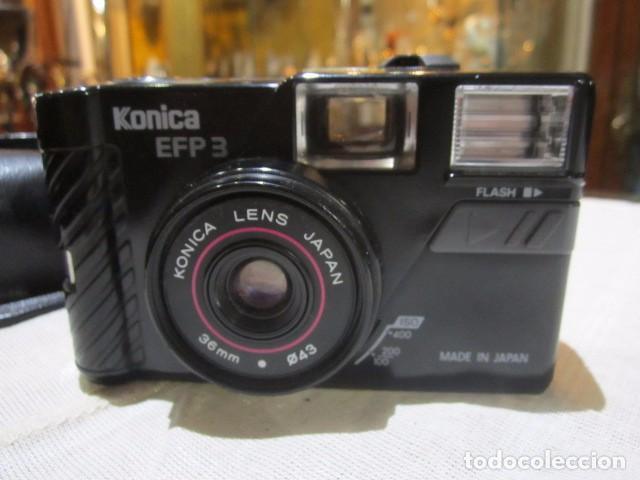 CÁMARA DE FOTOS KONICA EFP3 (Cámaras Fotográficas - Clásicas (no réflex))