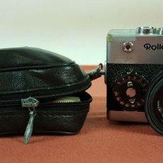 Cámara de fotos: CAMARA FOTOGRAFICA DE 35 MM. ROLLEI. 35 S. SINGAPUR. FUNDA ORIGINAL. 1974.. Lote 69823049