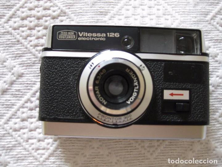 CÁMARA DE FOTOS VOIGTLÄNDER VITESSA 126 ELECTRONIC (Cámaras Fotográficas - Clásicas (no réflex))