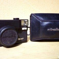 Cámara de fotos: CAMARA DE FOTOS JAPONESA MINOLTA HI MATIC HI-MATIC AF CON FUNDA. Lote 81722615