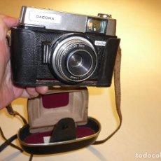 Cámara de fotos: CAMARA FOTOGRAFICA ALEMANA *DACORA DIGNETTE 300* CON FUNDA. Lote 154847320