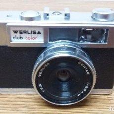 Cámara de fotos: CAMARA WERLISA CLUB COLOR. CON FUNDA PROTECTORA. FOTOGRAFIA. Lote 82213840
