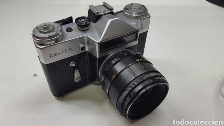 CÁMARA FOTOGRÁFICA RUSA ZENIT-E (AÑO 1980) (Cámaras Fotográficas - Clásicas (no réflex))