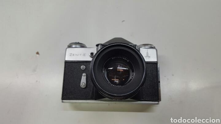Cámara de fotos: Cámara fotográfica rusa ZENIT-E (AÑO 1980) - Foto 3 - 136700490