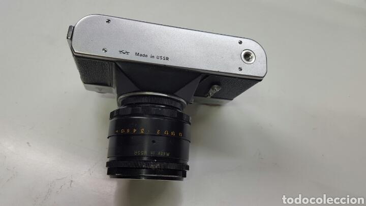 Cámara de fotos: Cámara fotográfica rusa ZENIT-E (AÑO 1980) - Foto 4 - 136700490