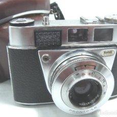Cámara de fotos: ANTIGUA CAMARA FOTOS 35MM - KODAK AG RETINETTE IB - USA AÑO 1963 66 + FUNDA ORIGINAL - 35 MM. Lote 84857792