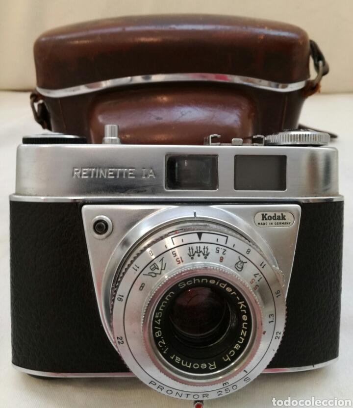 CAMARA FOTOS KODAK RETINETTE I.A AÑOS 60. (Cámaras Fotográficas - Clásicas (no réflex))