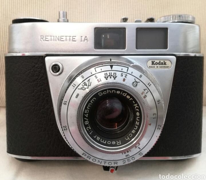 Cámara de fotos: Camara Fotos Kodak Retinette I.A años 60. - Foto 2 - 85243546