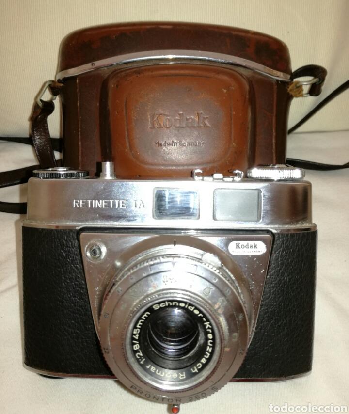 Cámara de fotos: Camara Fotos Kodak Retinette I.A años 60. - Foto 4 - 85243546