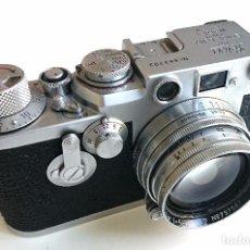 Leica IIIF con objetivo Leitz