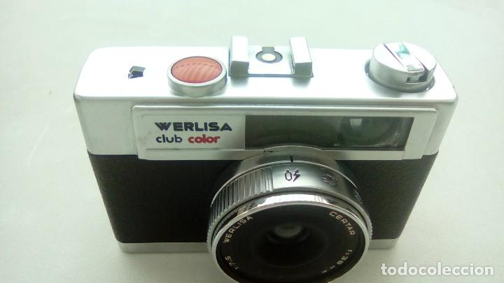 MAQUINA FOTOGRAFIA CLASICA WERLISA CLUB COLOR CON FUNDA (Cámaras Fotográficas - Clásicas (no réflex))