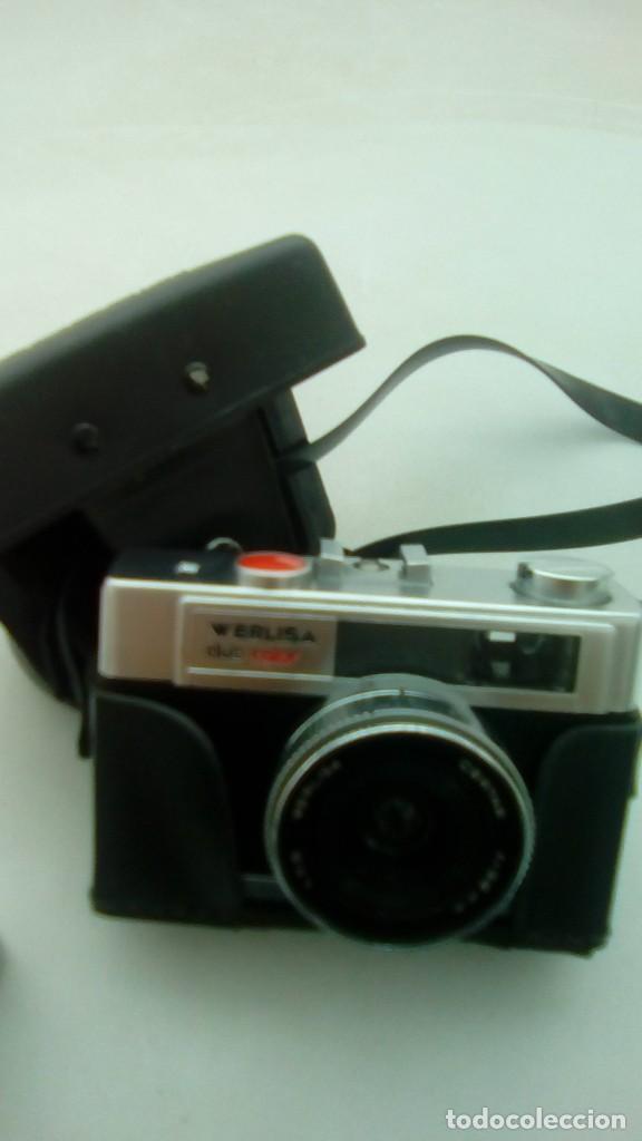 Cámara de fotos: Maquina fotografia clasica werlisa club color con funda - Foto 2 - 194402355