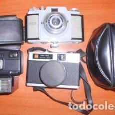 Cámara de fotos: LOTE DE 3 CÁMARAS DE FOTOS Y UN FLASH: KODAK POCKET, HALINA PAULETTE JUNIOR, WERLISA I. Lote 88999036