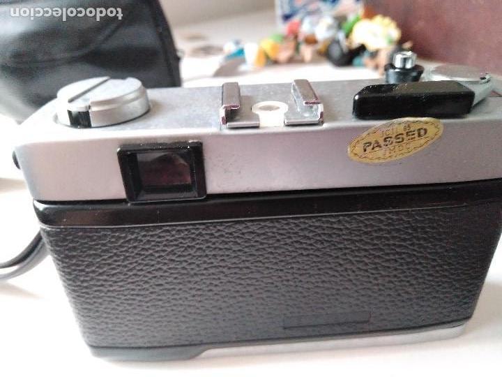 Cámara de fotos: ANTIGUIA CÁMARA FOTOGRÁFICA MINOLTA HI-MATIC - G con flash y fundas - Foto 3 - 93934265