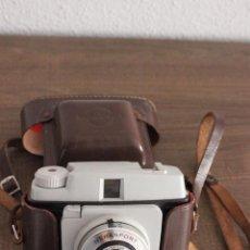Cámara de fotos: ANTIGUA CÁMARA FOTOGRÁFICA NERASPORT AMATEUR-DE PLÁSTICO O BAQUELITA-CON FUNDA. Lote 95355011