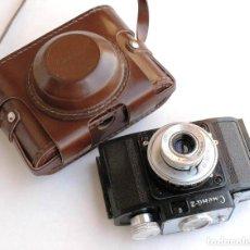 Cámara de fotos: *1953-56* • GOMZ URSS LOMO ' SMENA 2 ' OBJ. F4.0 CLÁSICA BAQUELITA (35MM). Lote 95494823
