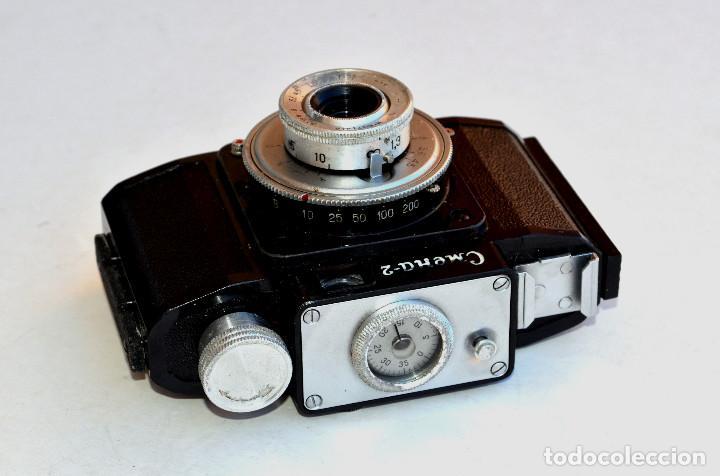 Cámara de fotos: *1953-56* • GOMZ URSS Lomo SMENA 2 Obj. f4.0 Clásica baquelita (35mm) - Foto 5 - 95494823