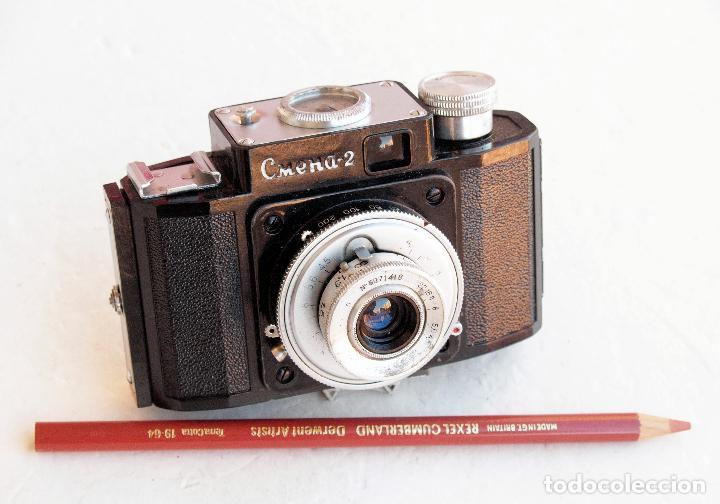 Cámara de fotos: *1953-56* • GOMZ URSS Lomo ' SMENA 2 ' Obj. f4.0 Clásica baquelita (35mm) - Foto 6 - 95494823