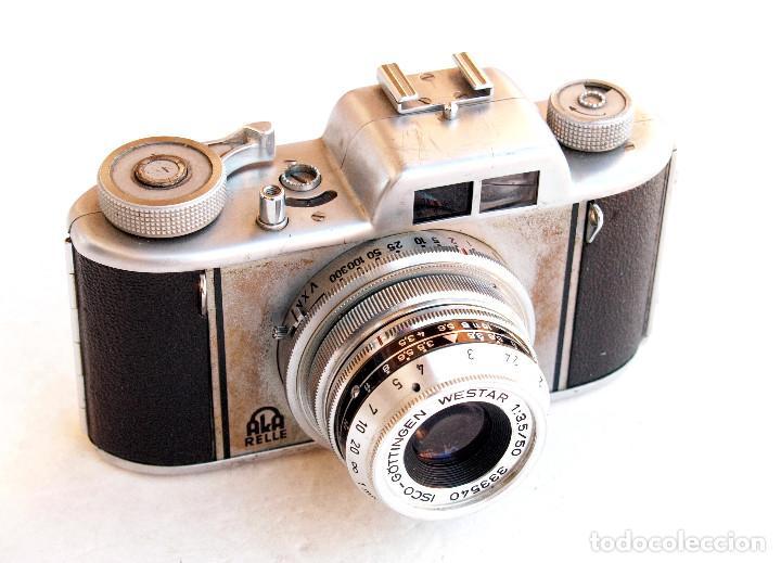 *C1955* • APPARATE UND KAMERABAU AKA AKARELLE WESTAR F3.5 PRONTOR • 35MM, OBJETIVOS INTERCAMBIABLES (Cámaras Fotográficas - Clásicas (no réflex))