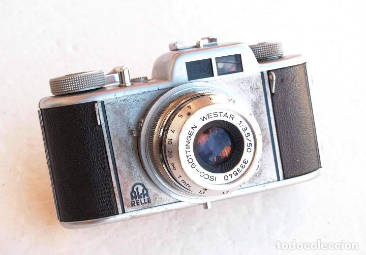 Cámara de fotos: *c1955* • Apparate und Kamerabau AkA AKARELLE Westar f3.5 Prontor • 35mm, objetivos intercambiables - Foto 7 - 95568411