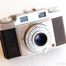 Cámara de fotos: *C1955* • AGFA SUPER SILETTE TELEMÉTRICA - APOTAR F3.5 GAUTHIER PRONTOR-SVS 35MM (FUNDA). Lote 96266783