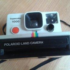 Cámara de fotos: CÁMARA FOTOGRÁFICA -- POLAROID -- SUPERCOLOR 1000. Lote 96376803