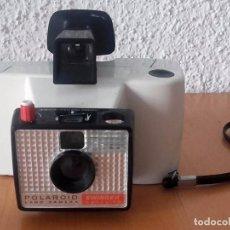 Cámara de fotos: CÁMARA POLAROID SWINGER LAND CAMERA 1965 FRANCIA. Lote 96581763