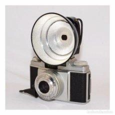 Cámara de fotos: AGFA SILETTE-L 1957 + FLASH AGFA KM + ESTUCHES. Lote 97169951