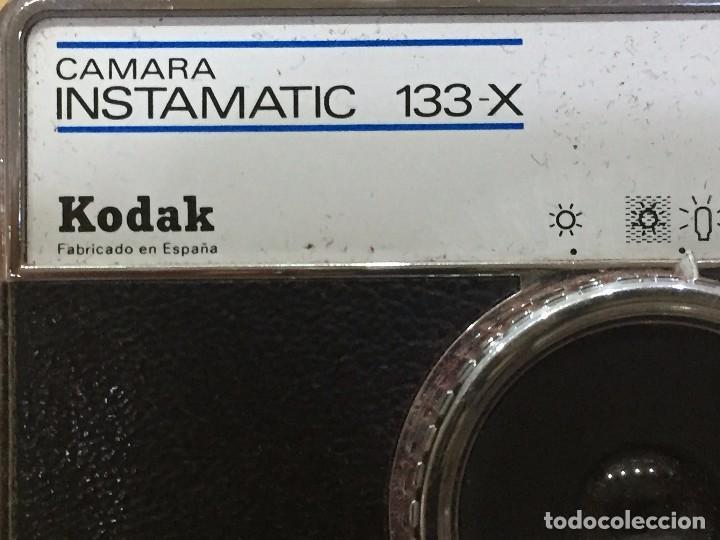 KODAK INSTAMATIC 133 - X FABRICADA EN ESPAÑA (Cámaras Fotográficas - Clásicas (no réflex))