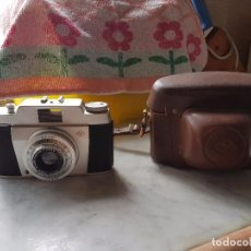 Cámara de fotos: MAQUINA FOTOGRAFICA 1958 AGFA SILETTE PRONTO COLOR-AGNAR 1:2.8/45. Lote 98042007