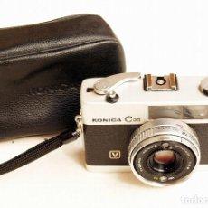 Cámara de fotos: *C1971* • KONICA C35 'V' HEXANON F2.8 • COMPACTA 35MM FOTÓMETRO CDS. Lote 100501787