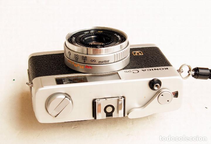 Cámara de fotos: *c1971* • Konica C35 'V' Hexanon f2.8 • Compacta 35mm Fotómetro CdS - Foto 4 - 100501787