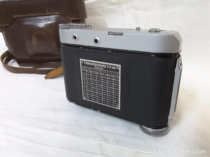 Cámara de fotos: Hapo 35 telemétrica de 1952. Excelente - Foto 4 - 101655347