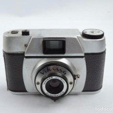 Cámara de fotos: CAMARA VIKING, OBJETIVO VIKINAR ACROMATICO, 1:6,3 48MM, COMPACTA FABRICADA EN ESPAÑA, AÑO 1950 / 60,. Lote 102770103