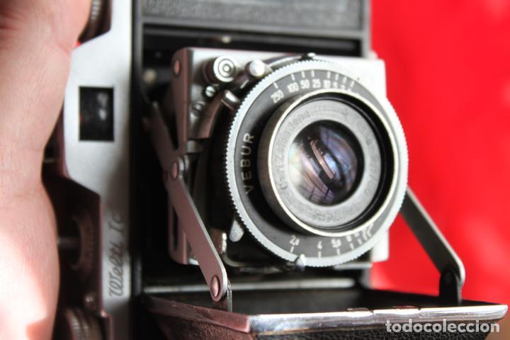 CÁMARA WELTI IC (OBJETIVO TESSAR) (Cámaras Fotográficas - Clásicas (no réflex))
