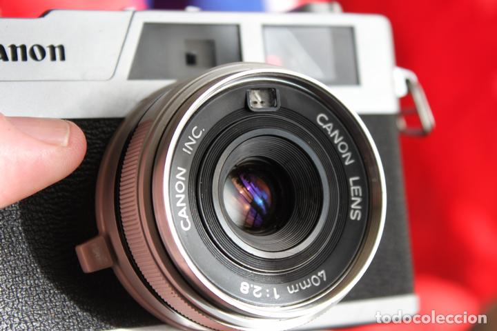 Cámara de fotos: Canonet 28 (telémetro) - Foto 2 - 103539067