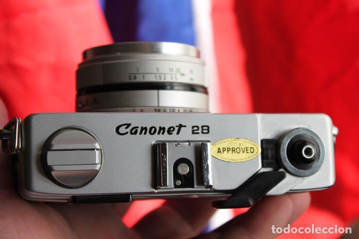 Cámara de fotos: Canonet 28 (telémetro) - Foto 4 - 103539067