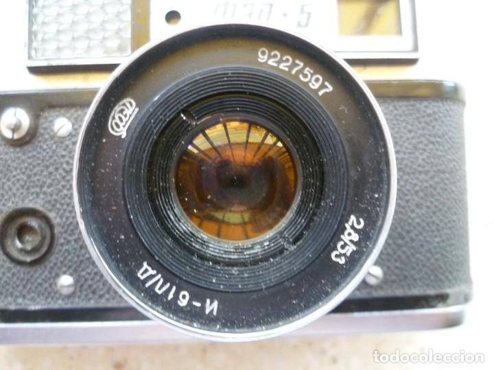 Cámara de fotos: CÁMARA FED 5 CON SU FUNDA - FABRICADA EN LA URSS - RUSIA - RUSA - Foto 8 - 104017911