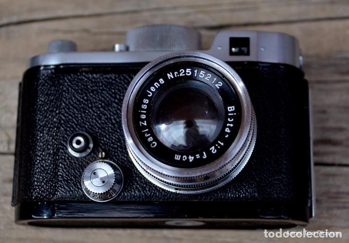 Cámara de fotos: Robot-Il-Wartime-Camera-Lens-Zeiss-Biotar-40-F-2-Luftwaffen-Eigentum - Foto 2 - 105348142
